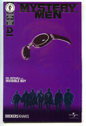 Mystery Men 1 Dark Horse 1999 NM- Dockers Khakis Variant Soundtrack