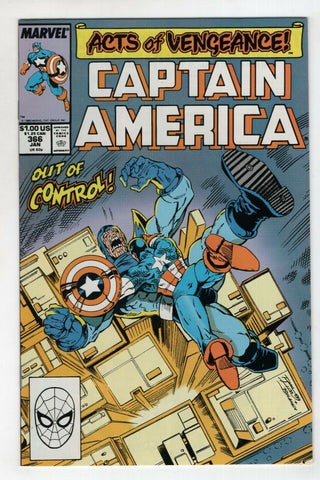 Captain America 366 Marvel 1990 NM Acts Of Vengeance Doctor Doom Magneto