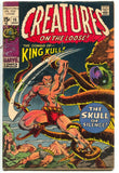 Creatures On The Loose 10 Marvel 1971 GD VG 1st King Kull Bernie Wrightson