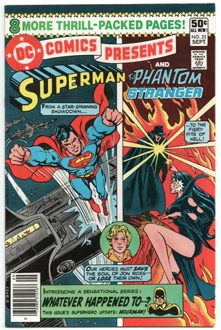 DC Comics Presents 25 1980 VF Superman Phantom Stranger Hourman