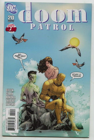 Doom Patrol 20 5th Series DC 2011 VF NM Secret Six