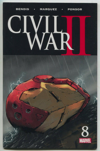 Civil War II 8 A Marvel 2017 NM Iron Man Captain America Nova Spider-Man
