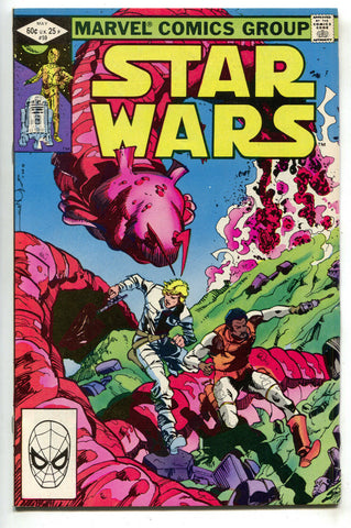 Star Wars 59 Marvel 1982 FN VF Luke Skywalker Lando Calrissian Walt Simonson