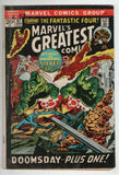 Marvels Greatest Comics 37 1972 VG Fantastic Four 50 Galactus Silver Surfer