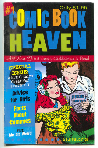Comic Book Heaven 1 SLG 1999 FN Scott Saavedra