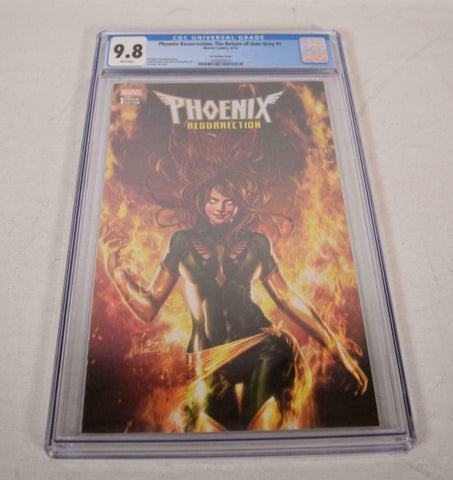 Phoenix Resurrection 1 Marvel 2017 CGC 9.8 In-Hyuk Lee Trade Variant GGA