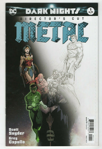 Dark Nights Metal 1 DC 2018 NM Directors Cut Variant Scott Snyder Batman