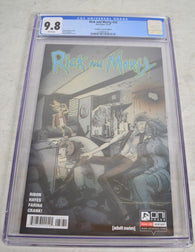 Rick And Morty 32 Oni 2017 Emmett Helen Flesh Curtains Variant CGC 9.8
