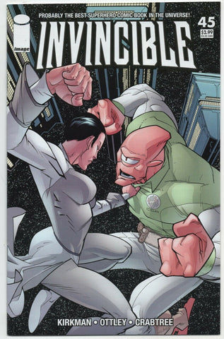 Invincible 45 Image 2007 NM Robert Kirkman Ryan Ottley