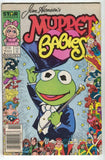 Muppet Babies 10 Marvel Star 1986 VG 25th Anniversary Frame Kermit Frog