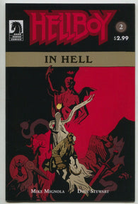 Hellboy In Hell 2 Dark Horse 2013 NM 2nd Print Mike Mignola Variant