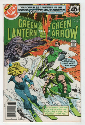 Green Lantern 113 1st Series DC 1979 NM- Green Arrow Black Canary
