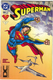 Superman 109 DC 1996 FN VF DCU Universe Logo UPC Variant Christmas Issue