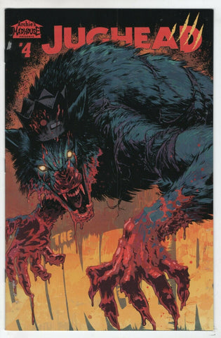 Jughead The Hunger 4 A Archie 2018 NM- Adam Gorham Werewolf