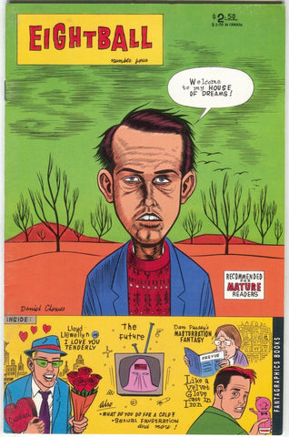 Eightball 4 Fantagraphics 1995 FN 4th Print Daniel Clowes