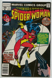 Spider-Woman 1 1st Series Marvel 1978 VF Marv Wolfman Joe Sinnott
