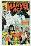 Marvel Age 82 1986 VF 1st Cable Preview New Mutants 87 Rob Liefeld