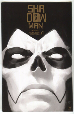 Shadowman 1 Valiant 2018 NM- Tonci Zonjic Gold Variant