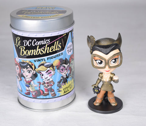 Lil DC Bombshells Series 1.5 Vinyl Figure Catwoman Gold Chase