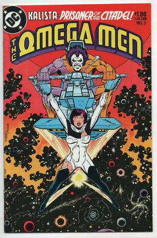 Omega Men 3 DC 1983 NM- 1st Lobo Mike DeCarlo