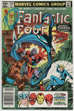 Fantastic Four 242 Marvel 1982 NM- Newsstand Terrax Spider-Man Thor Iron Man