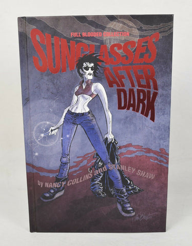 Sunglasses After Dark Full Blooded Collection HC IDW 2016 NM 1 2 3 4 5 6