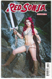 Red Sonja 8 D Dynamite 2017 NM Cosplay Variant Amanda Kitson