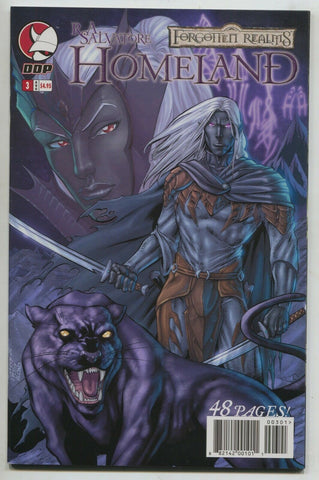 Forgotten Realms Homeland 3 A Devils Due 2007 NM Drizzt RA Salvatore