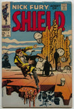 Nick Fury Agent of SHIELD 7 Marvel 1968 GD Jim Steranko