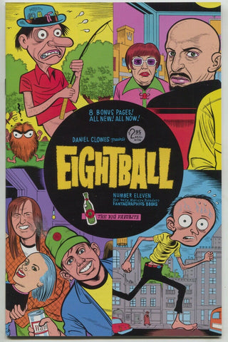 Eightball 11 Fantagraphics 1993 VF NM 1st Print Daniel Clowes Ghost World