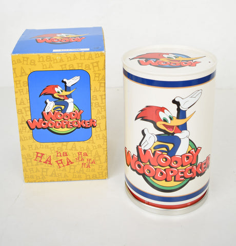 Fossil Woody Woodpecker Gold Edition Wrist Watch Statue Tin LTD 1000 Cartoon