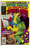 Spectacular Spider-Man 16 Marvel 1978 VF Beetle Sal Buscema Ghost Rider Ad