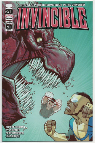 Invincible 91 Image 2012 NM Robert Kirkman Ryan Ottley