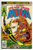 Nova 5 1st Series Marvel FN VF Captain America Spider-Man Hulk Bionic Man Ad