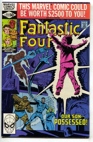 Fantastic Four 222 1st Series Marvel 1980 NM- Bill Sienkiewicz