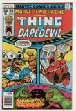Marvel Two-In-One 38 1978 VF NM Thing Daredevil