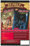 Red Sonja VS Thulsa Doom 2 Dynamite 2006 NM Dynamic Forces Red Foil Variant