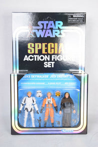 Star Wars Special Action Figure Set Luke Skywalker Jedi Destiny SDCC 2019 Hasbro