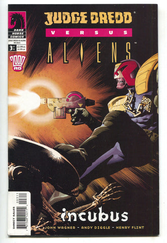 Judge Dredd Vs Aliens Incubus 3 Dark Horse 2003 NM John Wagner