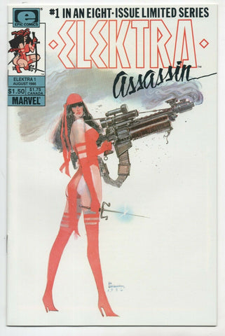 Elektra Assassin 1 Marvel 1986 NM Bill Sienkiewicz Frank Miller