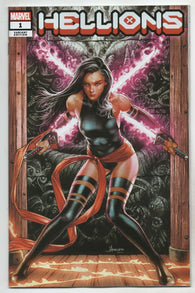 Hellions 1 Marvel 2020 NM Jay Anacleto Variant X-Men DX Psylocke GGA Pin-Up