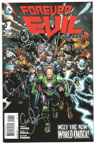 Forever Evil 1 DC 2013 NM New 52 David Finch Signed Geoff Johns