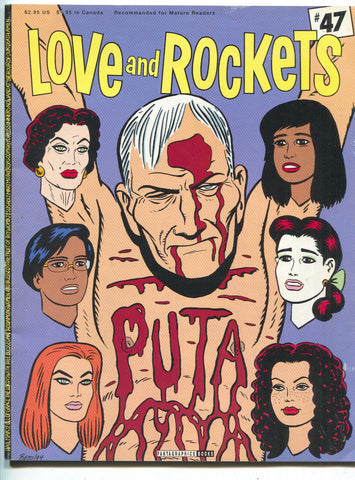Love And Rockets 47 Fantagraphics 1995 VG FN 1st Print Magazine