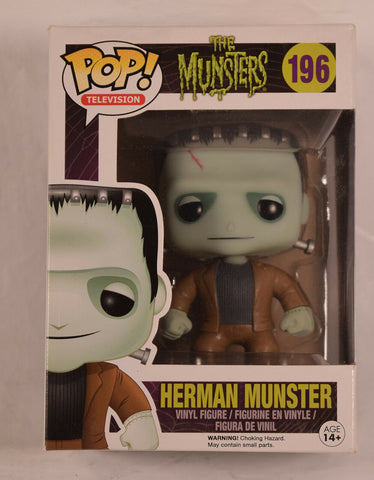 Munsters Herman Munster Pop Television Vinyl Figure 196 NIB