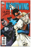 Nightwing 130 DC 2007 NM- Michael Golden Signed Marv Wolfman