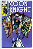 Moon Knight 22 1st Series Marvel 1982 VF Bill Sienkiewicz Mirror