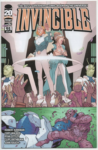 Invincible 95 Image 2012 NM Robert Kirkman Ryan Ottley