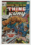 Marvel Two In One 26 1977 VF NM Thing Nick Fury Agent Of SHIELD