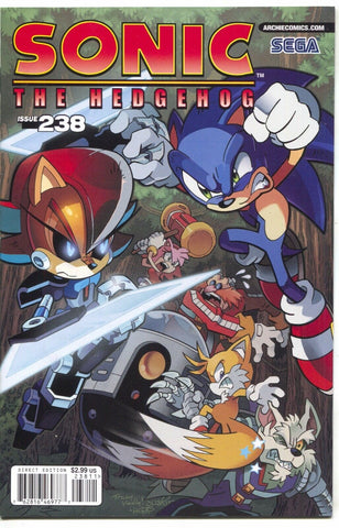 Sonic The Hedgehog 238 Archie 2012 NM Sega