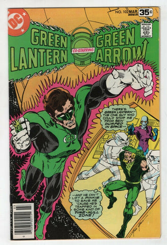 Green Lantern 102 1st Series DC 1978 VF Green Arrow Black Canary Mike Grell